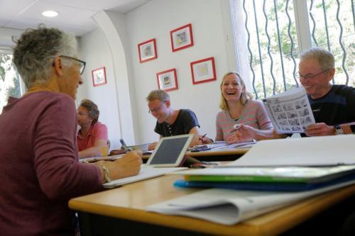 Ranskan kielikurssi aikuisille Aix en Provence.