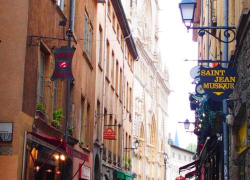 Lyon on vanhaa ja uutta.