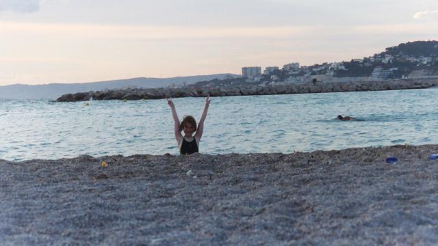 Marseillen ranta on hieno ja kaikille avoin