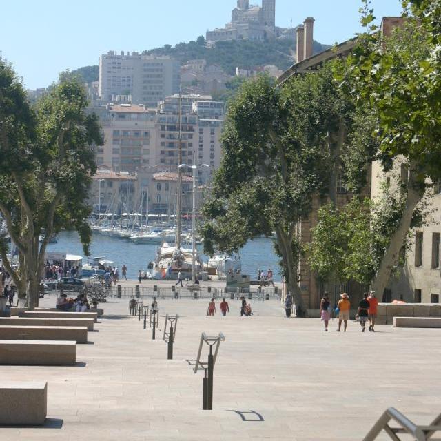Marseillen vanha kaupunki