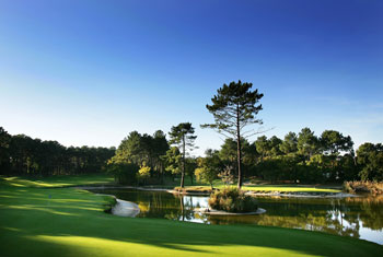 Golfaamaan Biarritzin kentille
