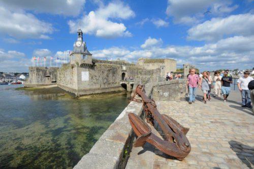 Kulttuuria ja historiaa Saint-Malossa. OT Bretagne. LE GAL Yannick.