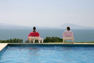 Ranska ja uima-allas Biarritz