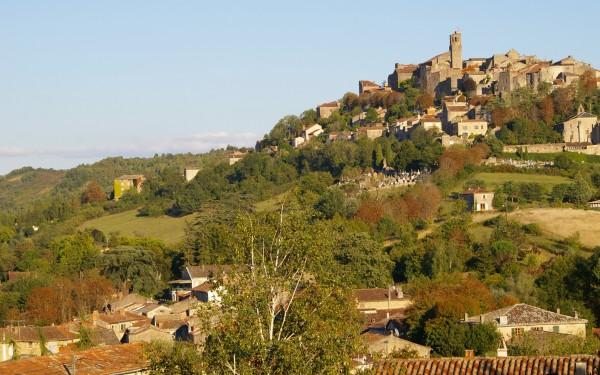 Cordes-sur-Cielin pittoreski kaupunki Lounais-Ranskassa.