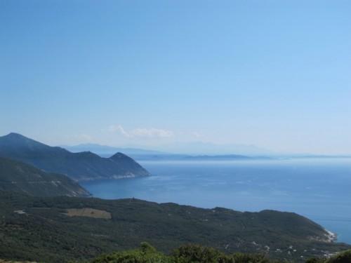 Korsikan maisemat ovat upeat