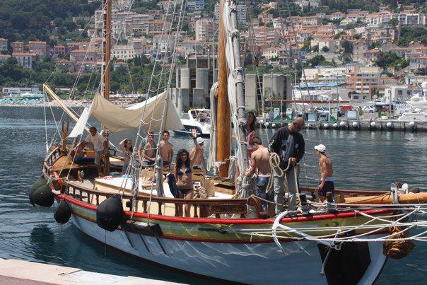 Ranskan veneretkellä Välimerellä