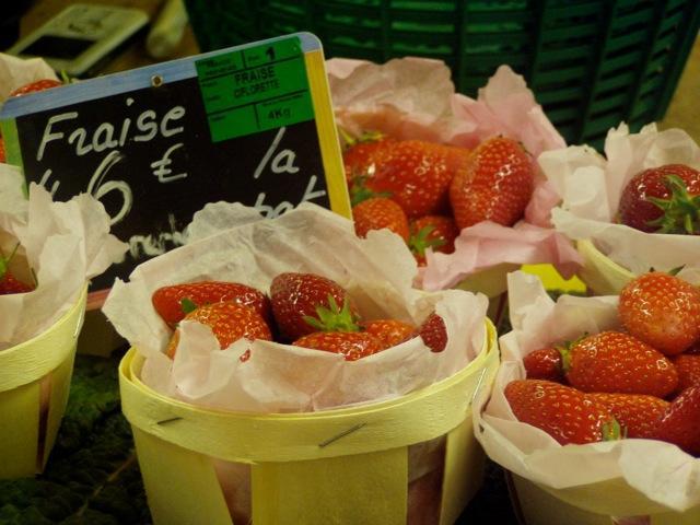 Ranskalaisia mansikoita, les fraises