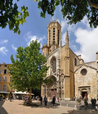 Katedraali Aixissa. Kuva OT Aix.