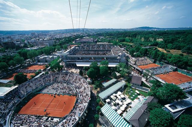 Roland Garros Pariisin avoimet tenniskisat