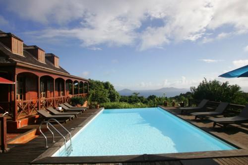 Uima-allas hotelli Guadeloupe