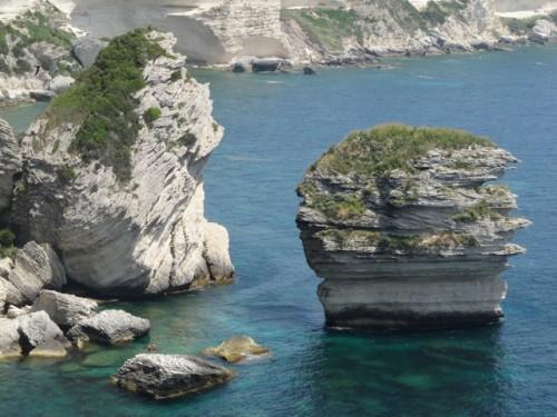 Korsika upeat uintipaikat