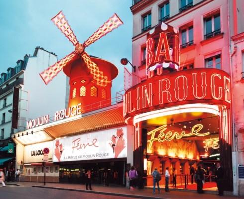 Moulin rouge pariisi ja Pariisin matkat räätälöidysti