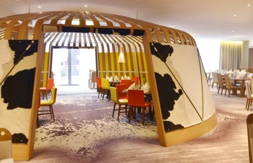 Club Med Ravintola hiihtomatka