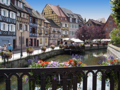 Colmar on valokuvauksellinen kaupunki.