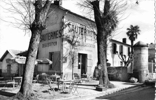Sauternes'n tunnelmaa, vintage-kuva.