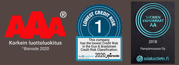 Luottoluokitus sertifikaatit