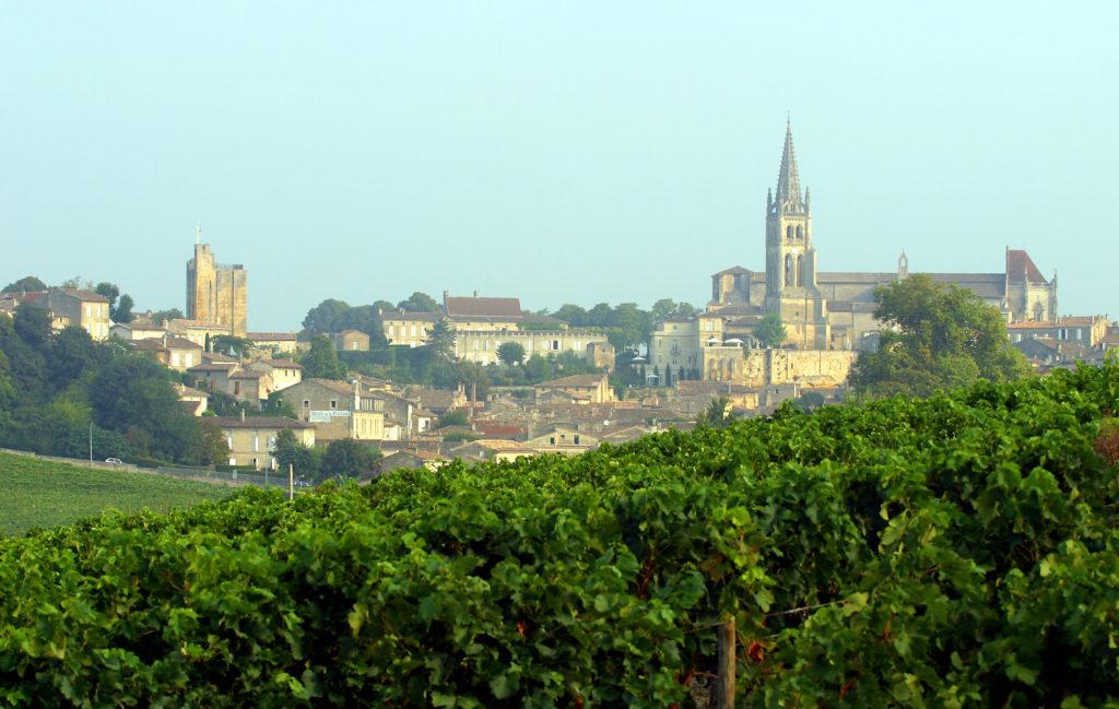 Village et vignoble de Saint-Emilion - vignoble de Bordeaux, Gironde (33).